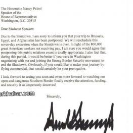 خانم پلوسی، رئیس مجلس آمریکا، سخنرانی سالیانه رئیس جمهور در کنگره را لغو میکند