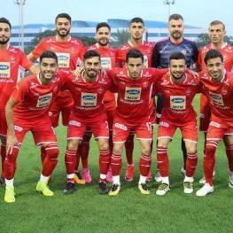 دیدار دوستانه تیمهای فوتبال پرسپولیس و الشحانیه قطر