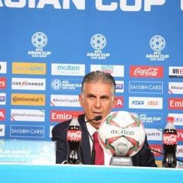کی روش در نشست خبری پیش از بازی با عمان