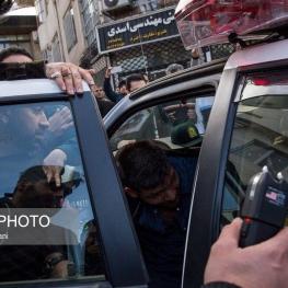 در حاشیه دستگیری یک سارق مسلح در رشت عکس از اشکان شعبانی