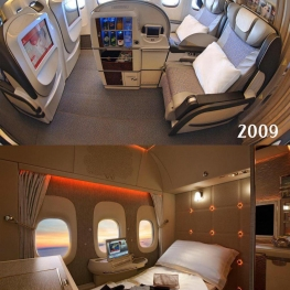 مایی امارات (Emirates) هم با انتشار این تصویر، به چالش ده ساله (#۱۰YearChallenge) پیوست