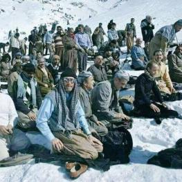 تصویر روز: نماز جماعت كولبران كُرد