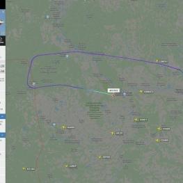 هواپیما ربایی در مسیر مسکو