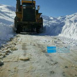 بارش برف راه ۱۵۰ روستا در کردستان را بست