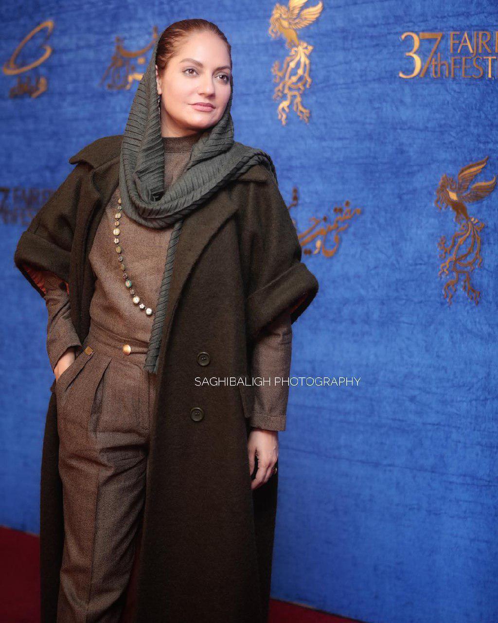 اینستاگرام گردی: مهناز افشار در سی و هفتمین جشنواره فیلم فجر