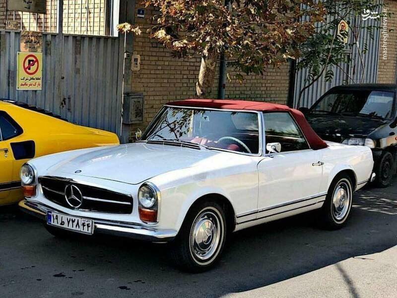 خودروی گرانقیمت آلمانی در تهران!