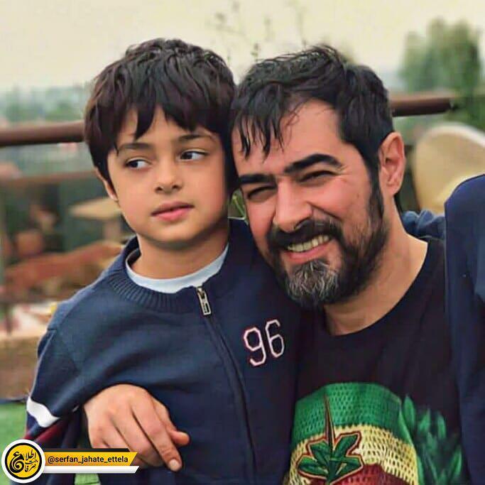 اینستاگرام گردی: شهاب حسینی و پسرش امیرعلی