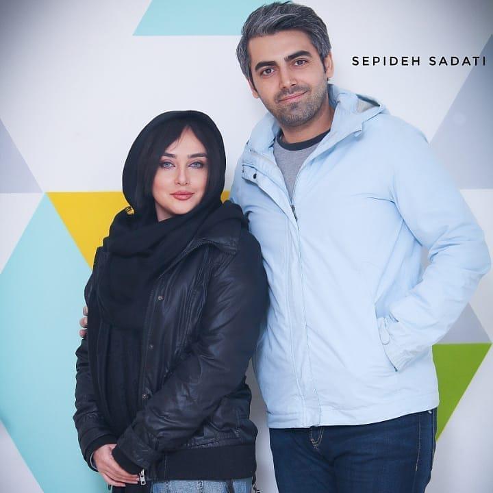 محمدرضا رهبری و همسرش در جشنواره فیلم فجر