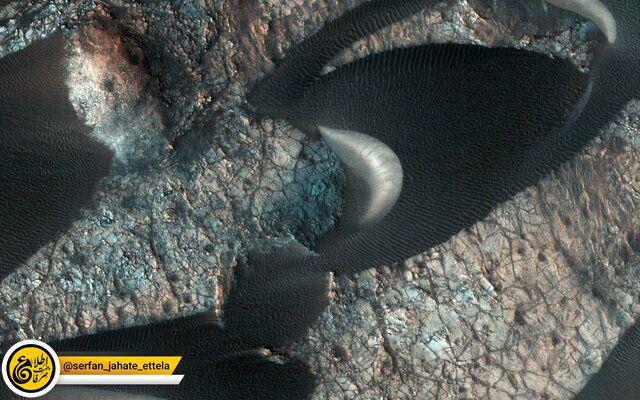 ناسا به تازگی تصویر تپههای ماسهای کره مریخ را منتشر کرد