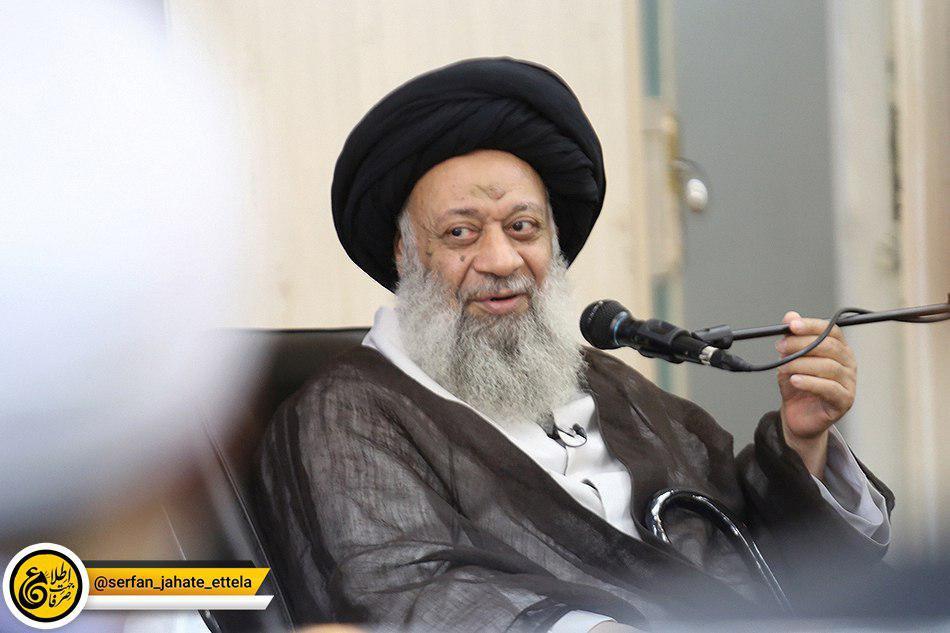 فوت آیت الله موسوی جزایری صحت ندارد/ امام جمعه اهواز در انگلیس حضور دارد