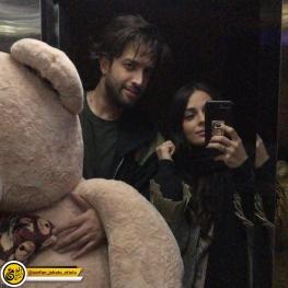 اینستاگرام گردی : بنیامین بهادری و همسرش در ولنتاین