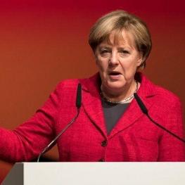 دفاع صدر اعظم آلمان از تصمیم قدرتهای اروپایی برای حفظ برجام