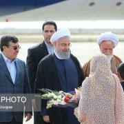 رئیسجمهور صبح امروز به استان هرمزگان سفر کرد و وارد فرودگاه شهرستان بندر لنگه شد