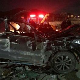 برخورد ۴ خودرو در شیراز با یک کشته و ۷ مصدوم 