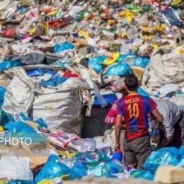 رشد زباله دزدی و تهدید جدی سلامت مردم