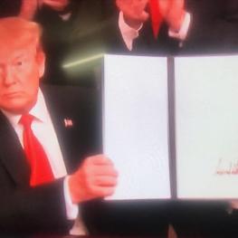 ترامپ با امضاء حکمی، منطقه جولان را به عنوان بخشی از خاک اسرائیل به رسمیت شناخت