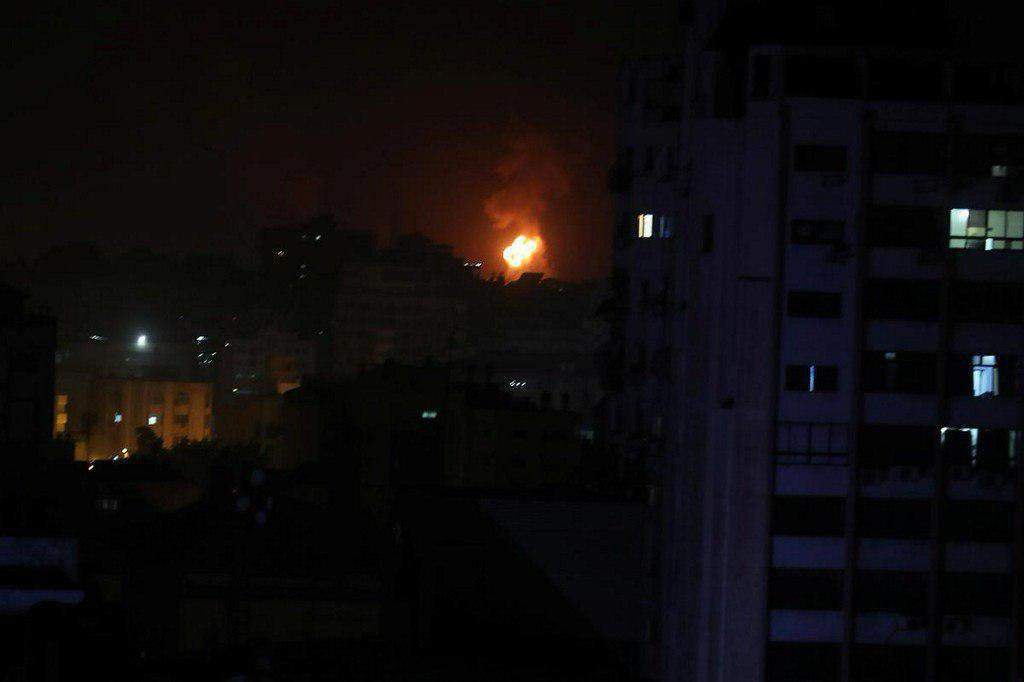 حمله موشکی به تل آویو و غزه