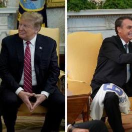 ترامپ باز هم سوژه شبکههای اجتماعی شد