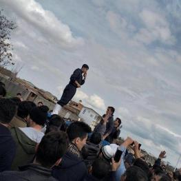تصویر: سردار آزمون امروز در آق قلا