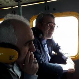 وزیر کشور در حال ارزیابی وضع مدیرت بحران در مناطق سیلزده