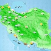 پیش بینی بارش باران در هرمزگان، کرمان، سیستان و بلوچستان و جنوب فارس، بخشهایی از غرب و جنوب غرب کشور