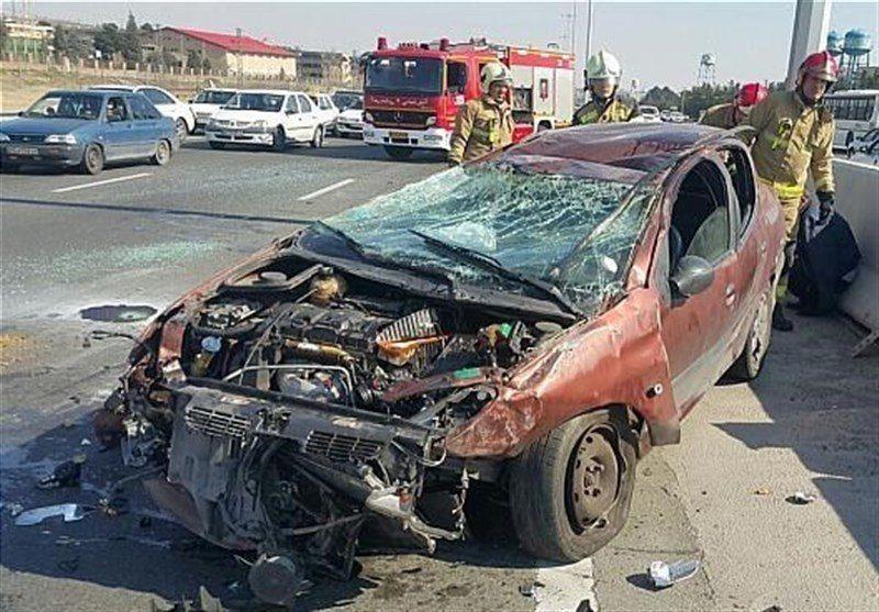 حوادث رانندگی در نوروز ۹۸ نسبت به سال گذشته، ۳۱ درصد کاهش داشته است