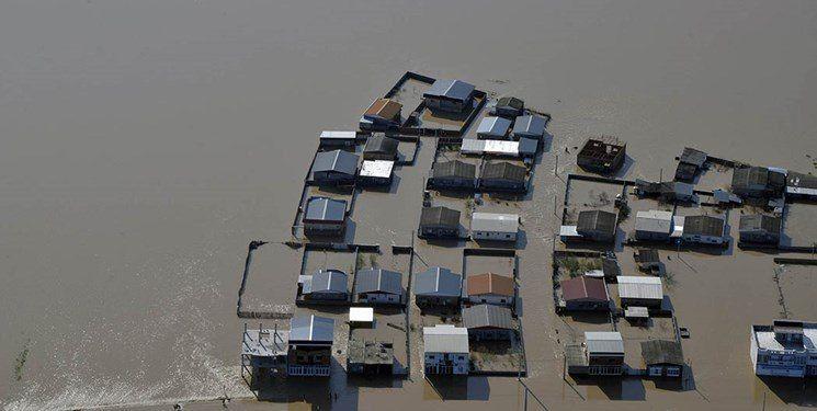 استاندار کرمانشاه: ۵ روستای کرمانشاه در محاصره کامل سیل قرار دارد.