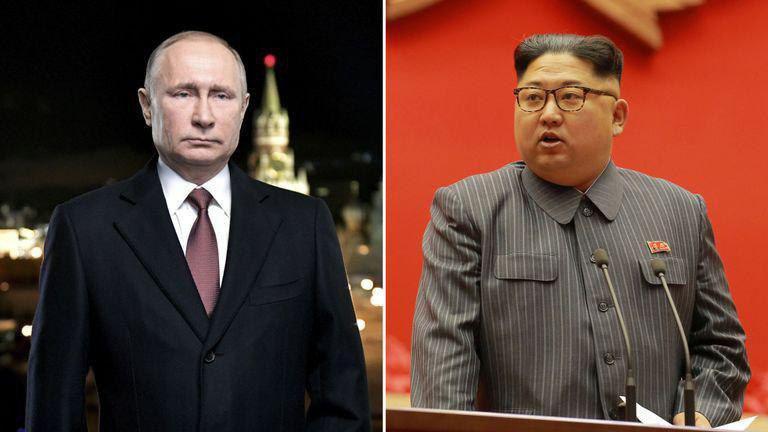 رهبر کره شمالی با پوتین دیدار می کند