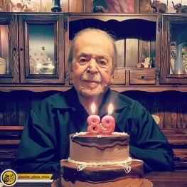 اینستاگرام گردی: تولد ۸۹ سالگی استاد محمدعلی کشاورز