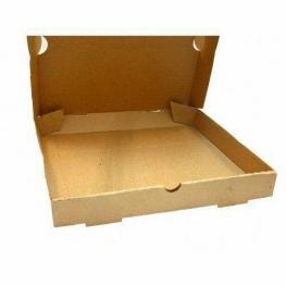 سرو پیتزا در کاغذهای ۳ بار بازیافتشده