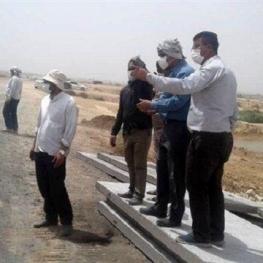 فرماندار اهواز:کانال سلمان بسته شد