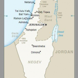 انتشار نقشه جدید اسرائیل توسط آمریکا