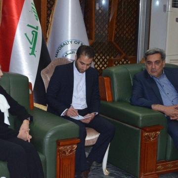 سفر حناچی به عراق و دیدار با شهردار بغداد