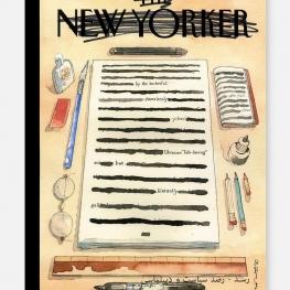 طرح روي جلد مجله نيويوركر ؛ طعنه اي به انتشار گزارش مولر درباره انتخابات امريكا و تخلفات ترامپ