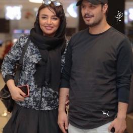 اینستاگرام گردی: جواد عزتی و همسرش مهلقا باقری