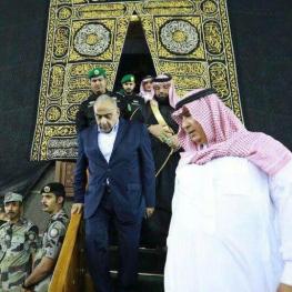 بازدید ویژه عادل عبدالمهدی نخست وزیر عراق از محیط داخلی کعبه