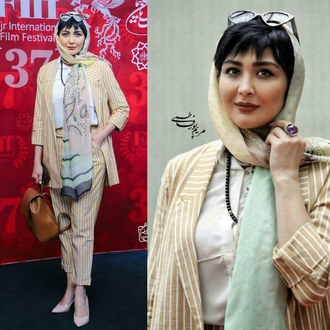 اینستاگرام گردی: مریم معصومی در سی و هفتمین جشنواره جهانی فیلم فجر