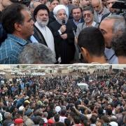 بازدید روحانی از منطقه سیلزده پلدختر: دولت رسیدگی به سیلزدگان پلدختر را دراولویت قرار میدهد