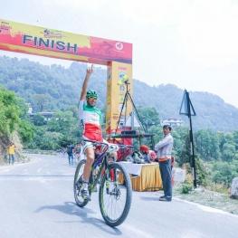 تور بین المللی دوچرخه سواری کوهستان در هندوستان با قهرمانی پرویز مردانی پایان یافت