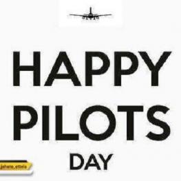 ۲۶ ام آپریل #روز_جهانی خلبان گرامی باد .