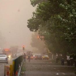 طوفان شدید در راه تهران