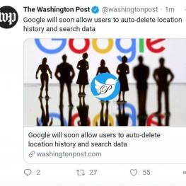 گوگل به زودی به کاربران اجازه پاک کردن خودکار دیتای مکانی و آنچه جستجو کرده اند را می دهد