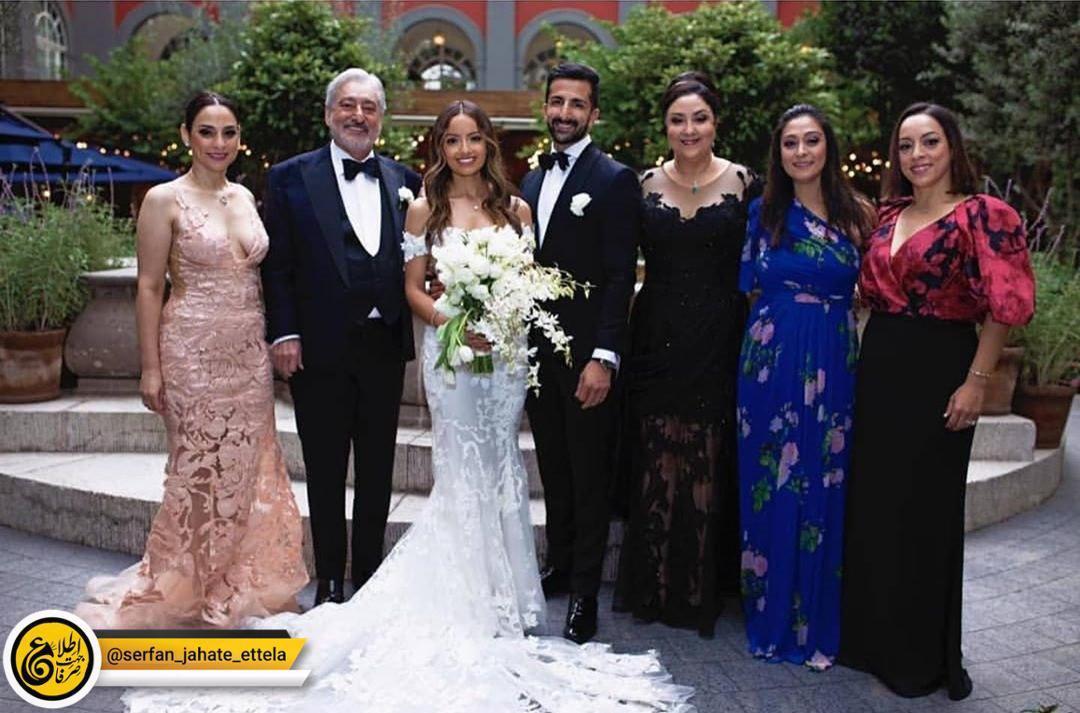 اینستاگرام گردی: عکس جدیدی که ابی از مراسم عروسی پسرش منتشر کرد