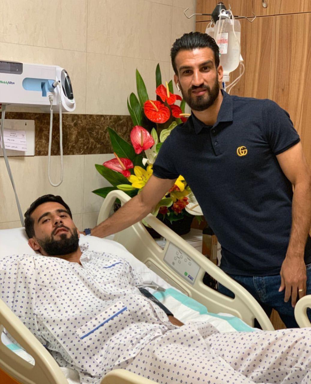 اینستاگرام گردی: ملاقات حسین ماهینی از بشار رسن