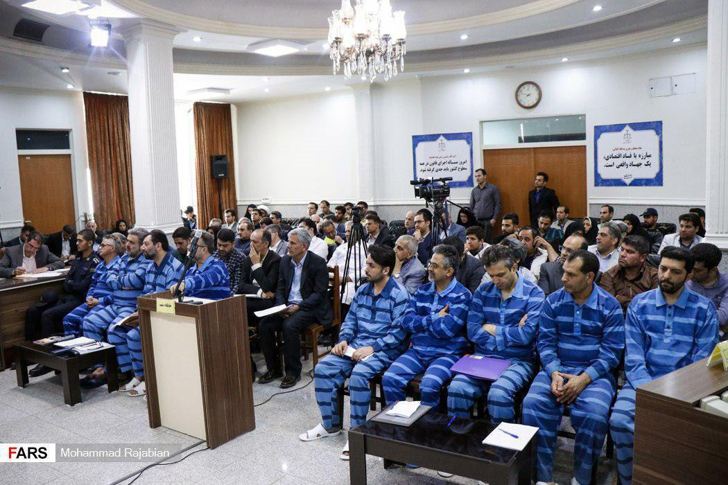 چهارمین جلسه رسیدگی به اتهامات متهمان پرونده موسوم به شرکت پدیده