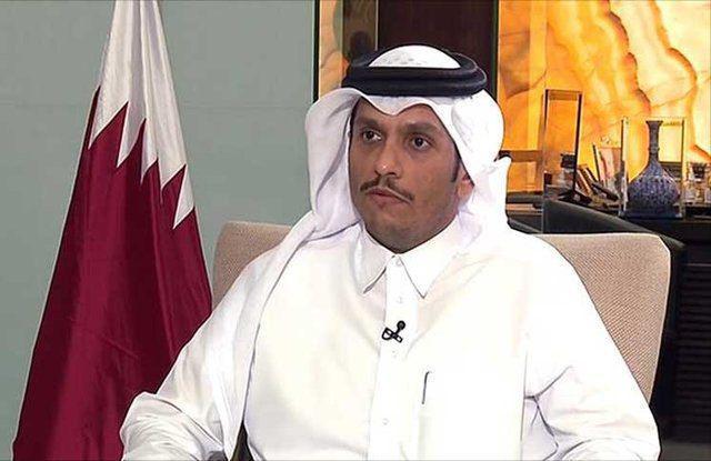 ادعای القدس العربی: وزیر خارجه قطر در در دو روز گذشته به تهران آمد