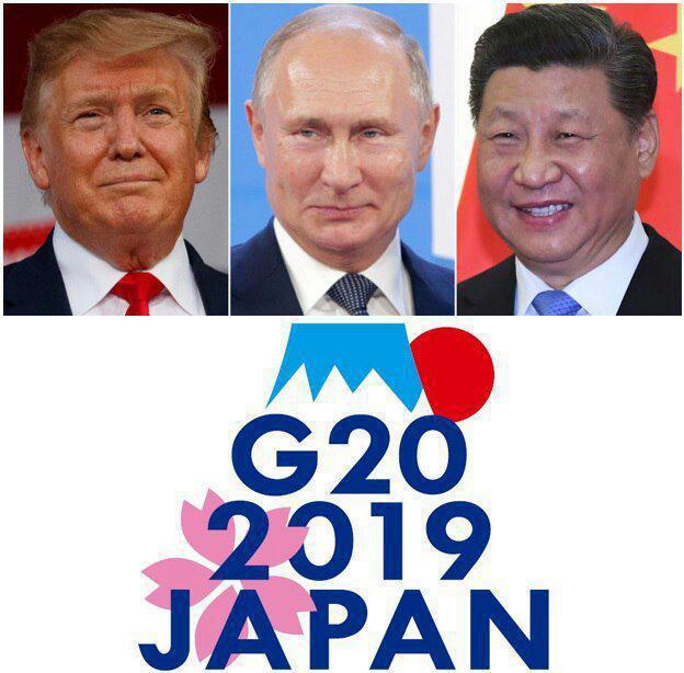 درخواست ترامپ براي ديدار با رؤسای جمهور روسیه و چین در اجلاس جی ۲۰