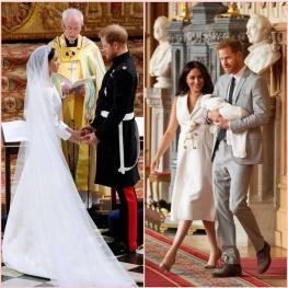 امروز اولین سالگرد ازدواج پرنس هری و مگان مارکل است