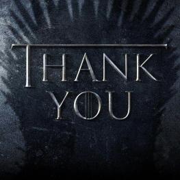 شرکت HBO با انتشار تصویر فوق از همه سازندگان، عوامل و نیز هواداران سریال محبوب Game of Thrones در سراسر جهان تشکر کرد