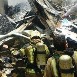 قربانیان آتشسوزی در بزرگراه اشرفی اصفهانی تهران به ۳ تن رسید